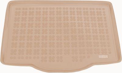 REZAW-PLAST beżowy gumowy dywanik mata do bagażnika Suzuki Swift V od 2017r. 231626B/Z