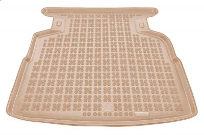 REZAW-PLAST beżowy gumowy dywanik mata do bagażnika Toyota Avensis Sedan TERRA od 2006-2009r. 231713B/Z