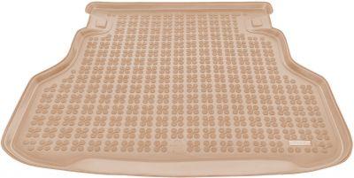REZAW-PLAST beżowy gumowy dywanik mata do bagażnika Toyota Avensis Kombi od 2003-2009r. 231714B/Z