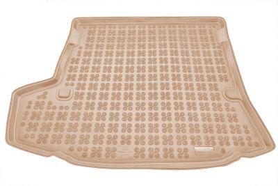 REZAW-PLAST beżowy gumowy dywanik mata do bagażnika Toyota Corolla Sedan od 2007-2013r. 231728B/Z