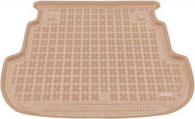 REZAW-PLAST beżowy gumowy dywanik mata do bagażnika Toyota Corolla Kombi od 2002r. 231731B/Z