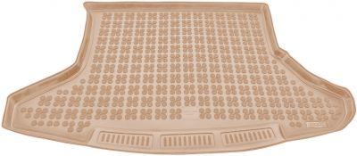 REZAW-PLAST beżowy gumowy dywanik mata do bagażnika Toyota Prius III od 2010-2015r. 231741B/Z