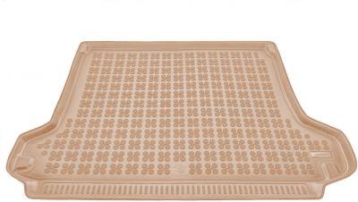 REZAW-PLAST beżowy gumowy dywanik mata do bagażnika Toyota Land Cruiser J150 5os. od 2009-2017r. 231742B/Z
