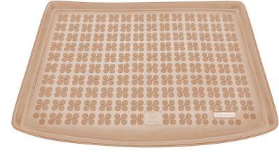 REZAW-PLAST beżowy gumowy dywanik mata do bagażnika Toyota Auris Hatchback od 2012r. 231750B/Z