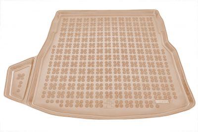 REZAW-PLAST beżowy gumowy dywanik mata do bagażnika Toyota Corolla Sedan od 2012r. 231754B/Z