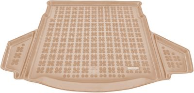 REZAW-PLAST beżowy gumowy dywanik mata do bagażnika Toyota Auris Kombi / Hybryda od 2013r. 231755B/Z