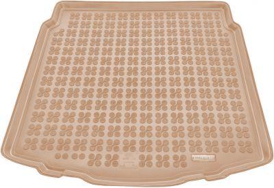 REZAW-PLAST beżowy gumowy dywanik mata do bagażnika Toyota Auris Kombi / Hybryda od 2013r. 231756B/Z