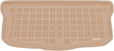 REZAW-PLAST beżowy gumowy dywanik mata do bagażnika Citroen C1 od 2014r. 231759B/Z
