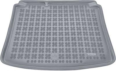 REZAW-PLAST popielaty gumowy dywanik mata do bagażnika Volkswagen Golf IV Hatchback od 1998-2003r. 231806S/Z