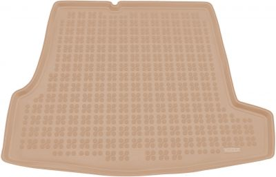 REZAW-PLAST beżowy gumowy dywanik mata do bagażnika VW Passat B5 Sedan od 09/1996-2005r. 231809B/Z