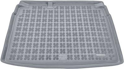 REZAW-PLAST popielaty gumowy dywanik mata do bagażnika Volkswagen Golf V Hatchback od 2003-2008r. 231820S/Z