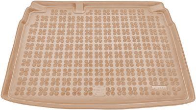 REZAW-PLAST beżowy gumowy dywanik mata do bagażnika VW Golf VI Hatchback od 2008-2012r. 231820B/Z