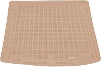 REZAW-PLAST beżowy gumowy dywanik mata do bagażnika VW Caddy 5os. od 2004r. 231826B/Z