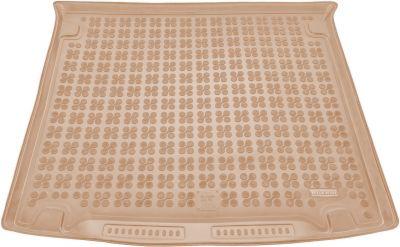 REZAW-PLAST beżowy gumowy dywanik mata do bagażnika VW Caddy Life 5/7os. od 2005r. 231829B/Z