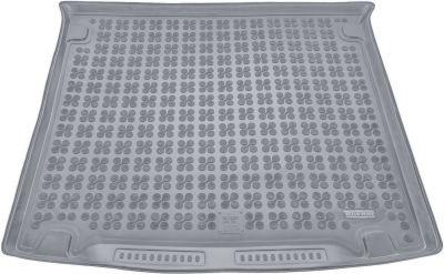 REZAW-PLAST popielaty gumowy dywanik mata do bagażnika Volkswagen Caddy Life 5/7os. od 2005r.231829S/Z