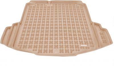 REZAW-PLAST beżowy gumowy dywanik mata do bagażnika VW Jetta od 2005r. 231830B/Z