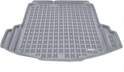 REZAW-PLAST popielaty gumowy dywanik mata do bagażnika Volkswagen Jetta od 2005r. 231830S/Z