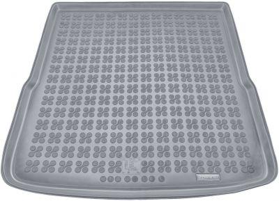 REZAW-PLAST popielaty gumowy dywanik mata do bagażnika Volkswagen Passat B6 Kombi od 2005-2010r. 231831S/Z