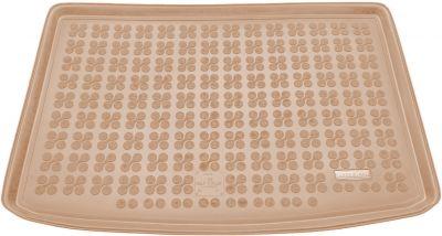 REZAW-PLAST beżowy gumowy dywanik mata do bagażnika VW Golf V Plus od 2004r. 231832B/Z