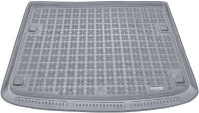 REZAW-PLAST popielaty gumowy dywanik mata do bagażnika Porsche Cayenne od 2002-2010r. 231834S/Z