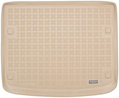 REZAW-PLAST beżowy gumowy dywanik mata do bagażnika VW Touareg 5os. od 2003-2010r. 231834B