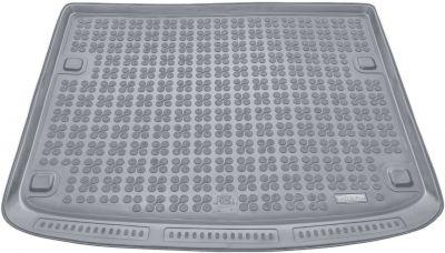 REZAW-PLAST popielaty gumowy dywanik mata do bagażnika Volkswagen Touareg 5os. od 2003-2010r. 231834S/Z