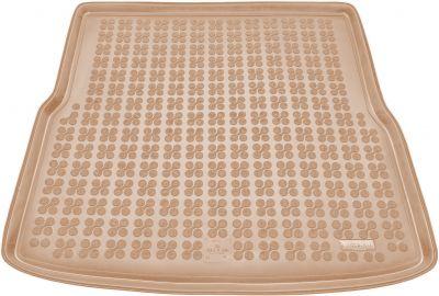 REZAW-PLAST beżowy gumowy dywanik mata do bagażnika VW Golf VI Kombi od 2008-2013r. 231835B/Z