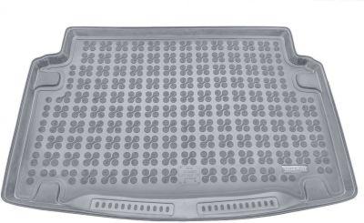 REZAW-PLAST popielaty gumowy dywanik mata do bagażnika Volkswagen Caddy Life Maxi 7os. od 2008r. 231845S/Z
