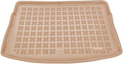 REZAW-PLAST beżowy gumowy dywanik mata do bagażnika VW Golf VII Hatchback od 2012r. 231861B/Z