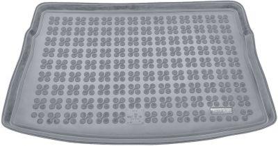 REZAW-PLAST popielaty gumowy dywanik mata do bagażnika VW Golf VII Hatchback (górna podłoga bagażnika) od 2012r. 231861S/Z