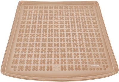 REZAW-PLAST beżowy gumowy dywanik mata do bagażnika VW Golf VII Kombi od 2013r. 231864B/Z