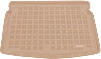 REZAW-PLAST beżowy gumowy dywanik mata do bagażnika VW Golf VII Sportsvan od 2014r. 231870B/Z