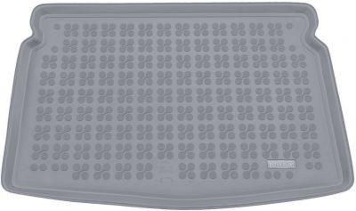 REZAW-PLAST popielaty gumowy dywanik mata do bagażnika VW Golf VII Sportsvan (dolna podłoga bagażnika)od 2014r. 231870S/Z
