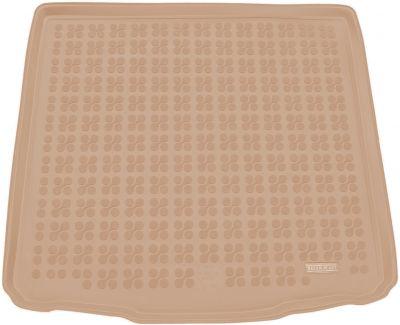 REZAW-PLAST beżowy gumowy dywanik mata do bagażnika VW Golf VII Kombi od 2013r. 231871B/Z