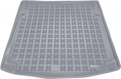 REZAW-PLAST popielaty gumowy dywanik mata do bagażnika Audi A4 B6 B7 Sedan od 2000-2007r. 232005S/Z