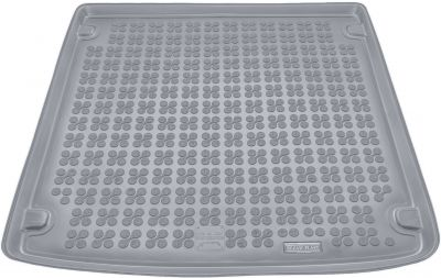 REZAW-PLAST popielaty gumowy dywanik mata do bagażnika Audi A4 B6 B7 Kombi od 09/2001-04/2008r. 232012S/Z