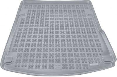 REZAW-PLAST popielaty gumowy dywanik mata do bagażnika Audi A6 C6 Sedan od 2004-2008r. 232014S/Z