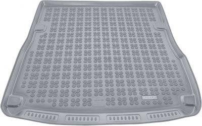 REZAW-PLAST popielaty gumowy dywanik mata do bagażnika Audi A6 C6 Kombi od 2004-2011r. 232016S/Z