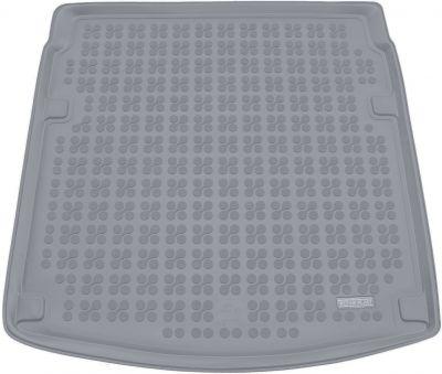 REZAW-PLAST popielaty gumowy dywanik mata do bagażnika Audi A4 B8 Sedan od 11/2007-2015r. 232018S/Z