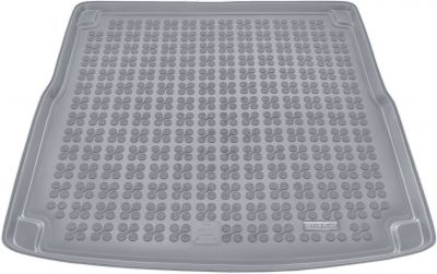 REZAW-PLAST popielaty gumowy dywanik mata do bagażnika Audi A4 B8 Kombi od 2008-2015r. 232019S/Z