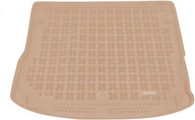 REZAW-PLAST beżowy gumowy dywanik mata do bagażnika Audi Q5 Hybryda od 2014r. 232032B/Z