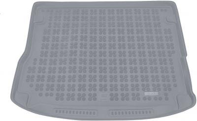 REZAW-PLAST popielaty gumowy dywanik mata do bagażnika Audi Q5 Hybryda od 2014r. 232032S/Z