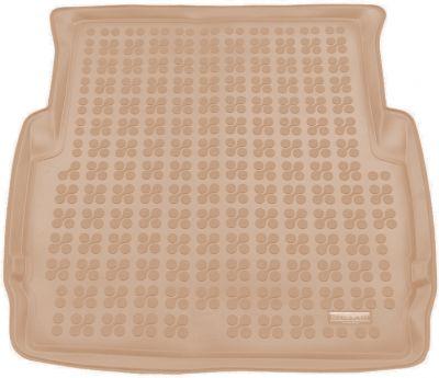 REZAW-PLAST beżowy gumowy dywanik mata do bagażnika BMW s3 E46 Sedan od 1998-2007r. 232101B/Z