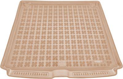 REZAW-PLAST beżowy gumowy dywanik mata do bagażnika BMW s5 E39 Kombi od 1997-2004r. 232104B/Z