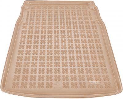 REZAW-PLAST beżowy gumowy dywanik mata do bagażnika BMW s5 E60 Sedan od 06/2003-2010r. 232105B/Z