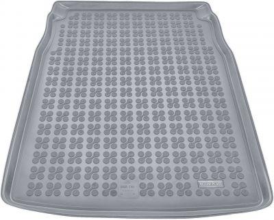 REZAW-PLAST popielaty gumowy dywanik mata do bagażnika BMW s5 E60 Sedan od 06/2003-2010r. 232105S/Z