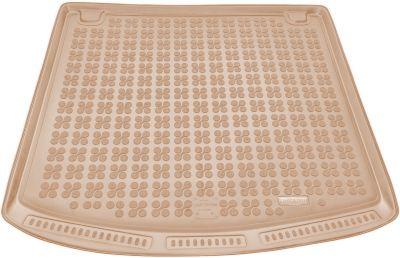 REZAW-PLAST beżowy gumowy dywanik mata do bagażnika BMW s5 E61 Kombi od 05/2004-2010r. 232106B/Z