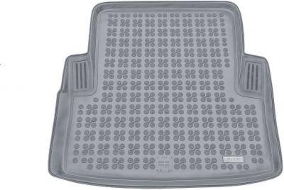 REZAW-PLAST popielaty gumowy dywanik mata do bagażnika BMW s3 E90 Sedan od 2005-2012r. 232107S/Z