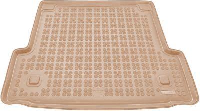 REZAW-PLAST beżowy gumowy dywanik mata do bagażnika BMW s3 E91 Kombi od 2005-2013r. 232108B/Z