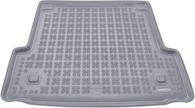 REZAW-PLAST popielaty gumowy dywanik mata do bagażnika BMW s3 E91 Kombi od 2005-2013r. 232108S/Z